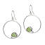 Circle of Life Sea Glass Earrings 2 thumbnail