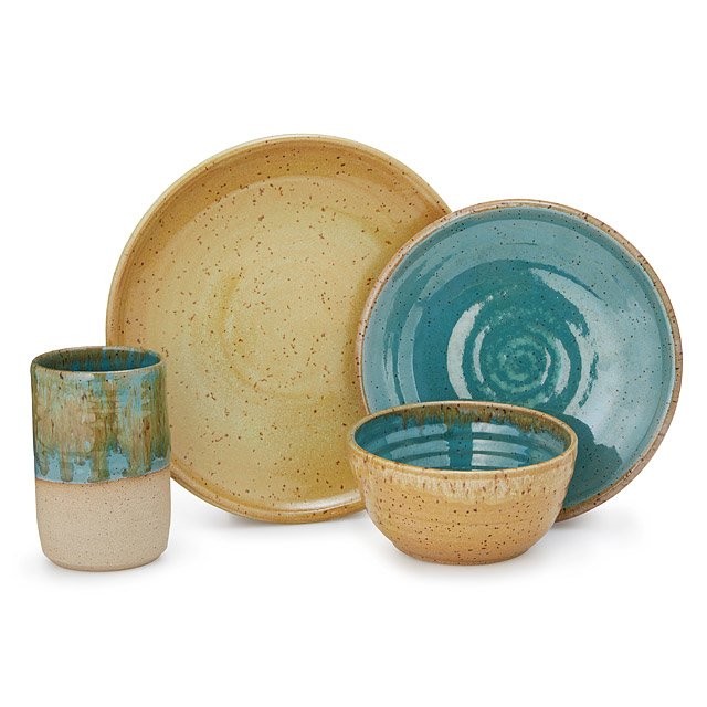 Beachside Stoneware Dishware Collection