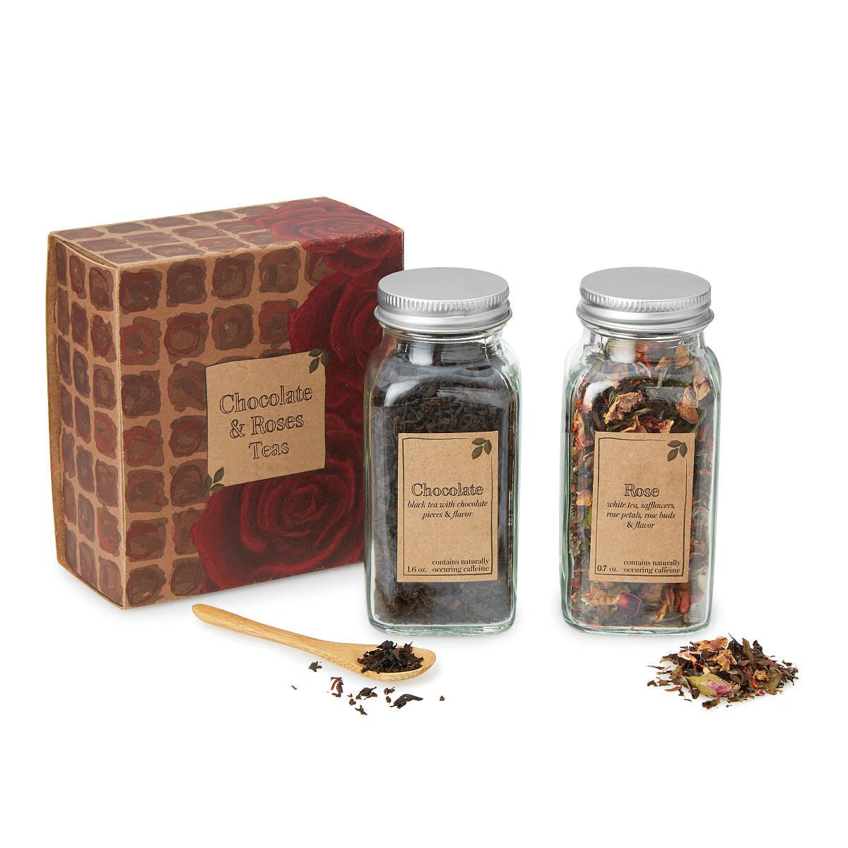 Chocolate & Roses Teas | rose tea, chocolate tea | UncommonGoods