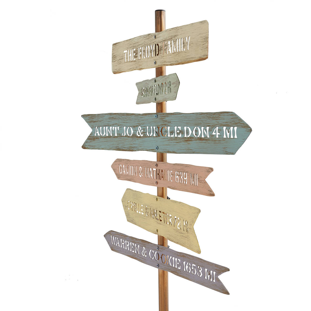personalized-family-member-signpost