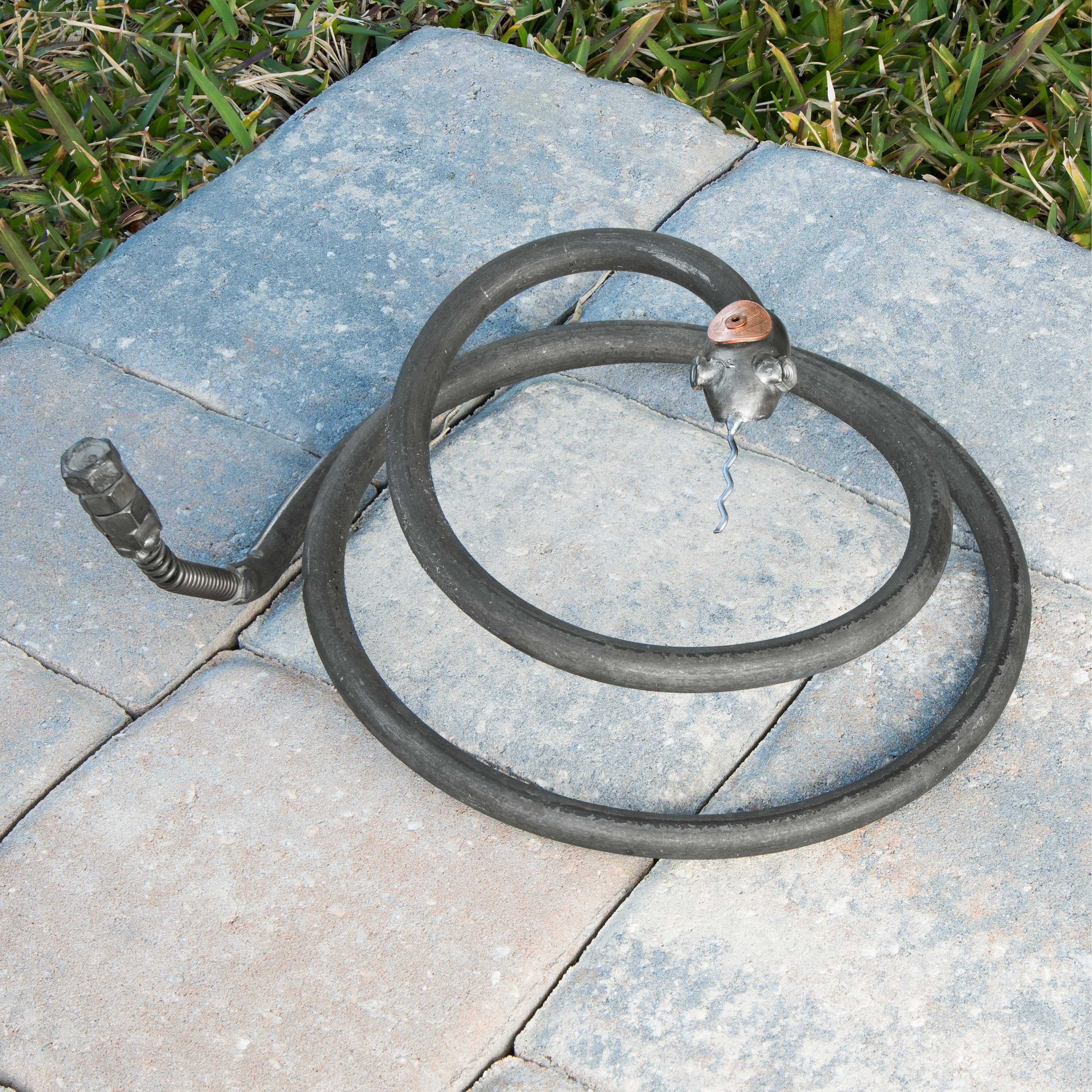 Cody the Copperhead Snake | outdoor decor, metal garden art ...