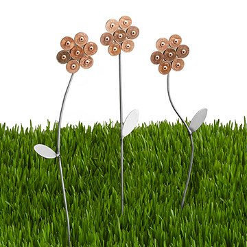 Lucky Penny Garden Flowers - Set of 3