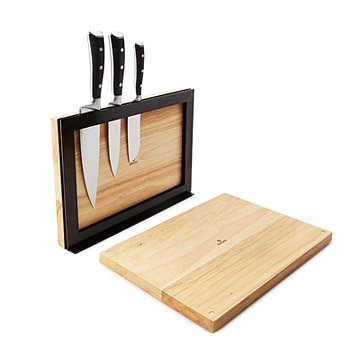 Magnetic Cutting Boards and Knife Rack