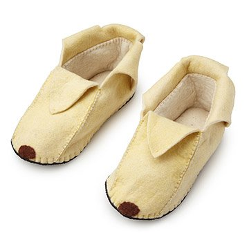 Foodie Slippers Banana