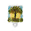 Recycled Glass Tree of Life Nightlight 2 thumbnail