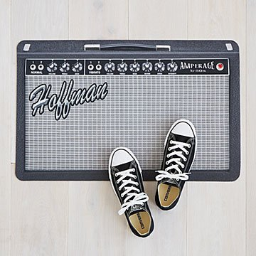 Customizable Personalized Amp Doormat