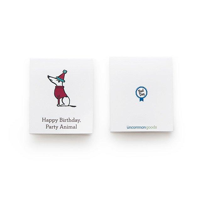 Printable Bad Dog Birthday Cards