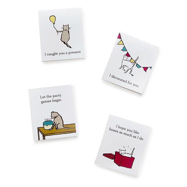 photograph regarding Cat Birthday Card Printable identified as Printable Cat Tao Birthday Playing cards downloadable playing cards