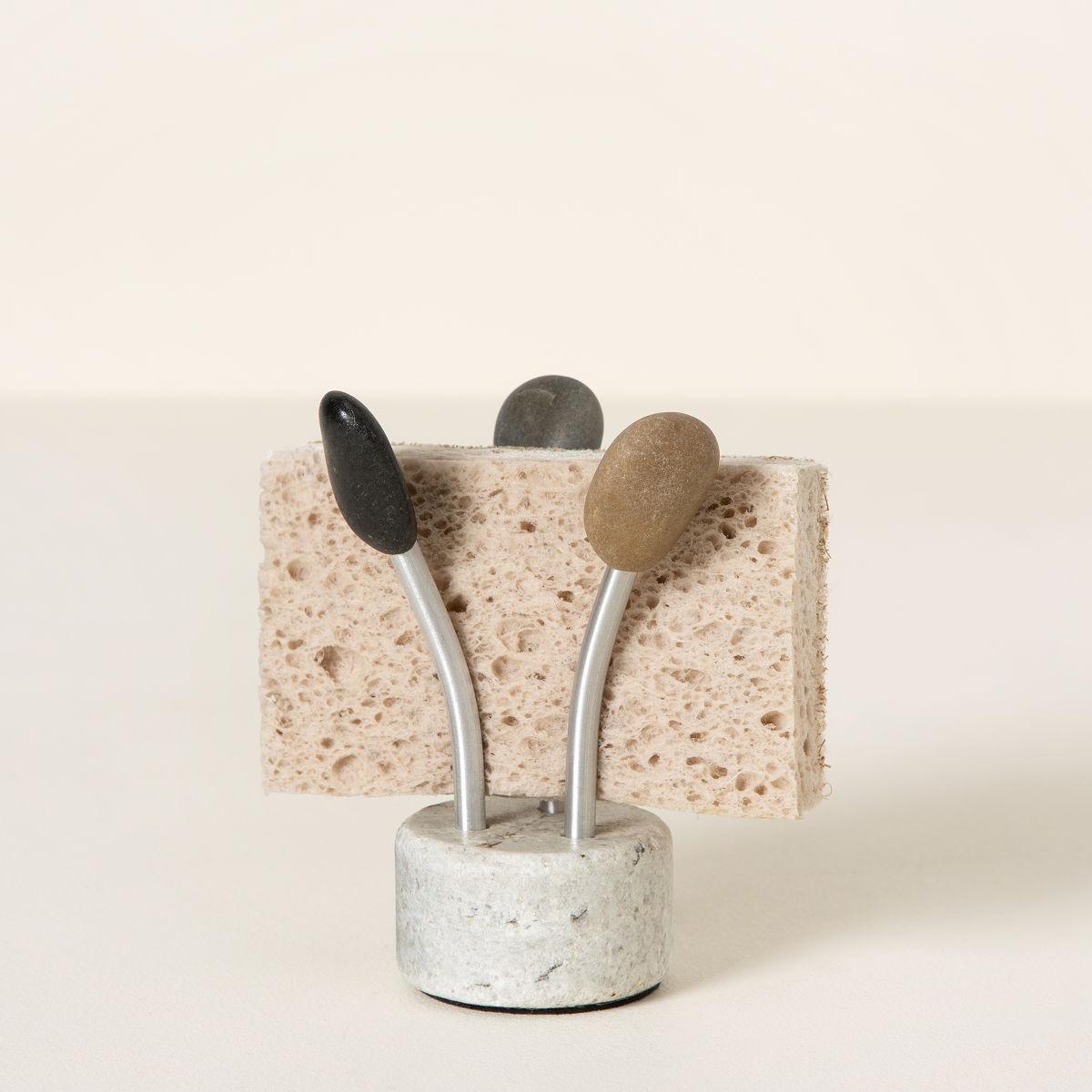 Ine design stone 187 other products - Sea Stone Splash Sponge Holder 1 Thumbnail