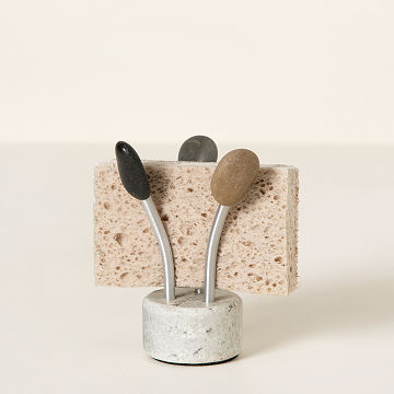 sea stone splash sponge holder - Kitchen Items