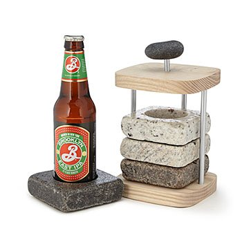 Beer Bottle Chilling Coaster Set