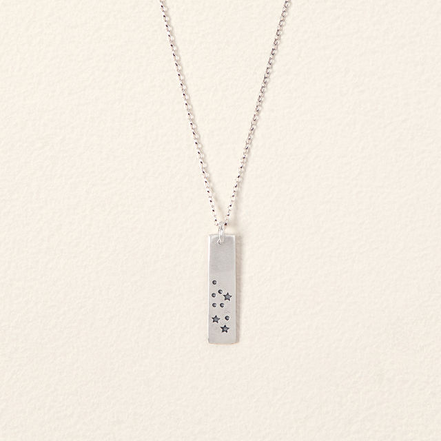Sign of The Zodiac Necklace | Zodiac Sign Necklace | UncommonGoods