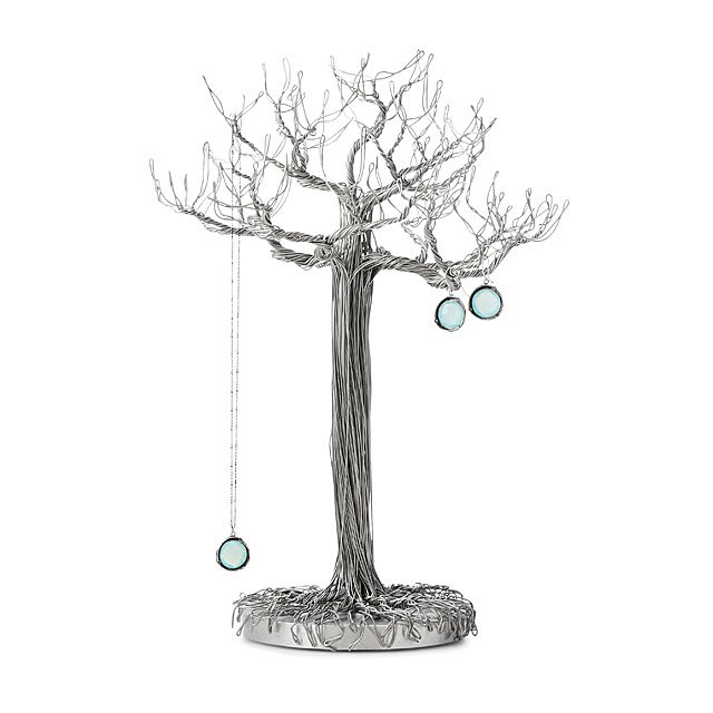 Wire Sculpture Jewelry Tree