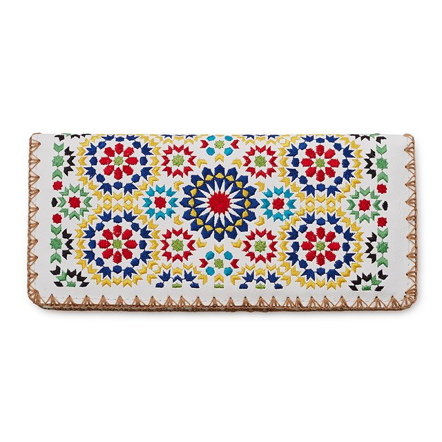 Fez Mosaic Embroidered Wallet