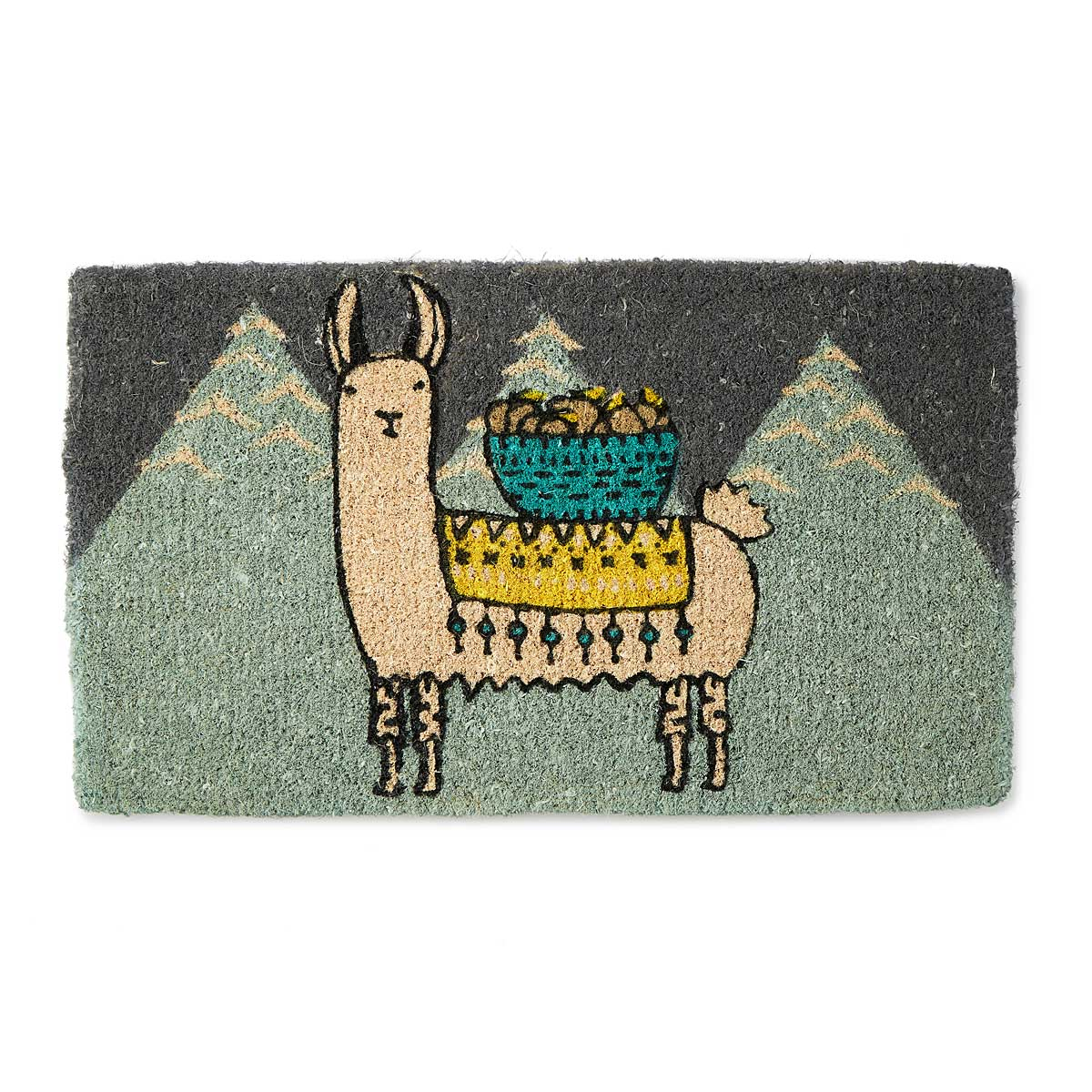 Larry The Llama Doormat Funny Welcome Mats Uncommongoods