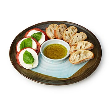 Garlic Grating Bread and Oil Dipping Plate