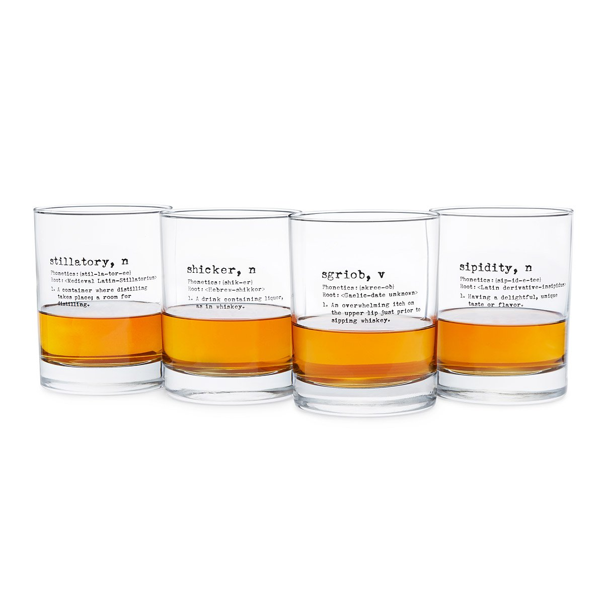life by definition whiskey glasses set of 4 1 thumbnail - Whiskey Glass Set