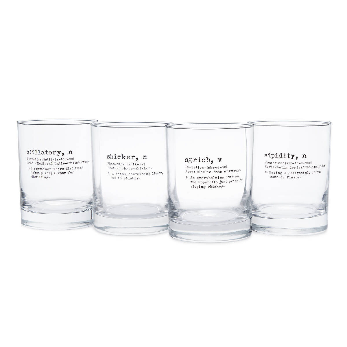 life by definition whiskey glasses set of 4 2 thumbnail - Whiskey Glass Set