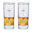 Scotch & Soda Diagram Glassware - Set of 2 2 thumbnail