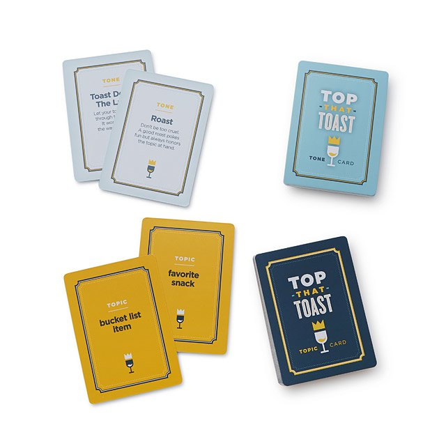 Top That Toast Card Game
