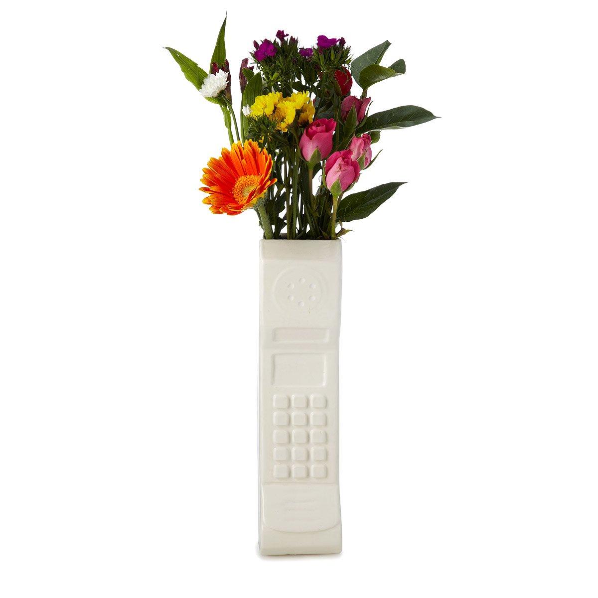 Brick phone vase retro cellphone flower vase uncommongoods brick phone vase 1 thumbnail reviewsmspy