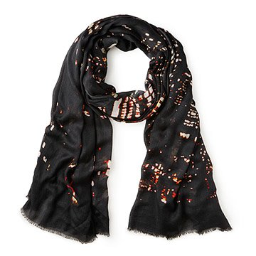 Manhattan At Night Scarf