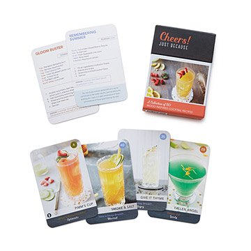 Cheers! Mood Cocktails Recipe Deck