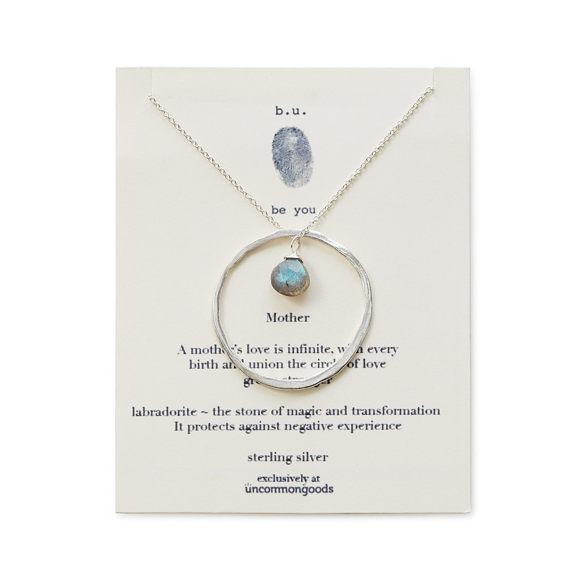 ring of love mother mom pendant necklace uncommongoods