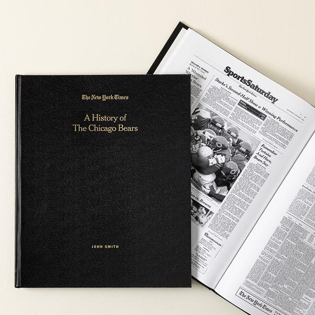 52164803c24 New York Times Custom Football Book