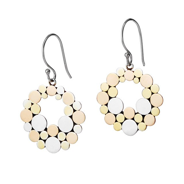 Floating Dot Earrings