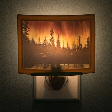 Northern Lights Colored Nightlight