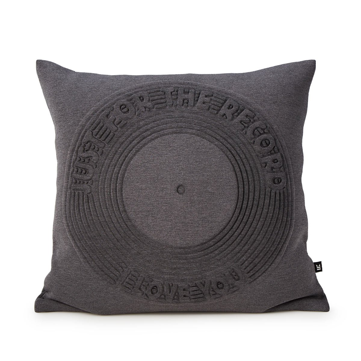 Just For The Record Pillow Decorative Love Record Pillow