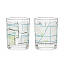 City Bike Map Glasses - Set of 2 2 thumbnail