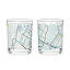 City Bike Map Glasses - Set of 2 3 thumbnail