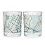 City Bike Map Glasses - Set of 2 4 thumbnail