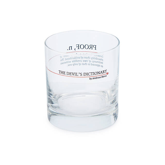 Devil's Dictionary Vocation Glasses - Set of 2