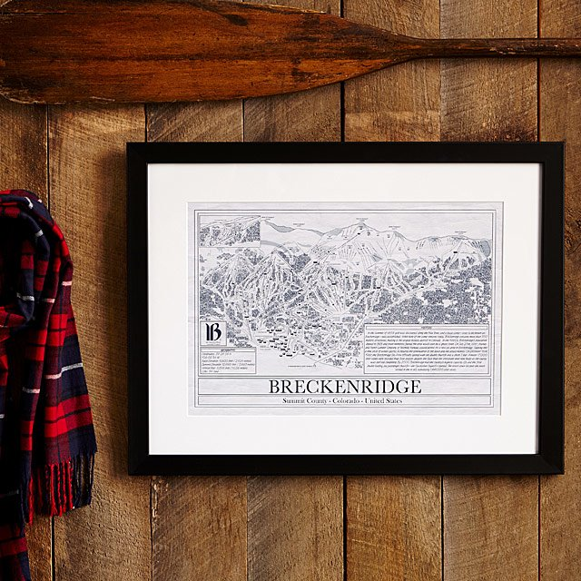 Ski resort blueprints ski resort wall art uncommongoods ski resort blueprints malvernweather Image collections