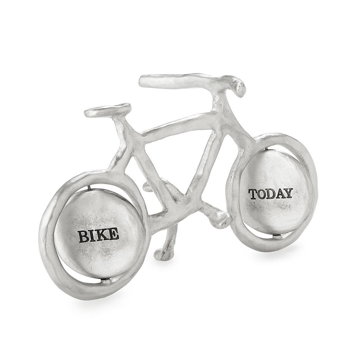 Bike six pack holder beer caddy bike bag uncommongoods bike today work tomorrow paperweight hexwebz Images