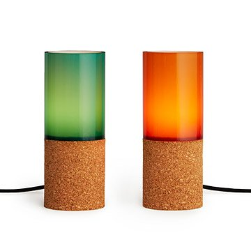 Glass Sleeve Desk Lamp