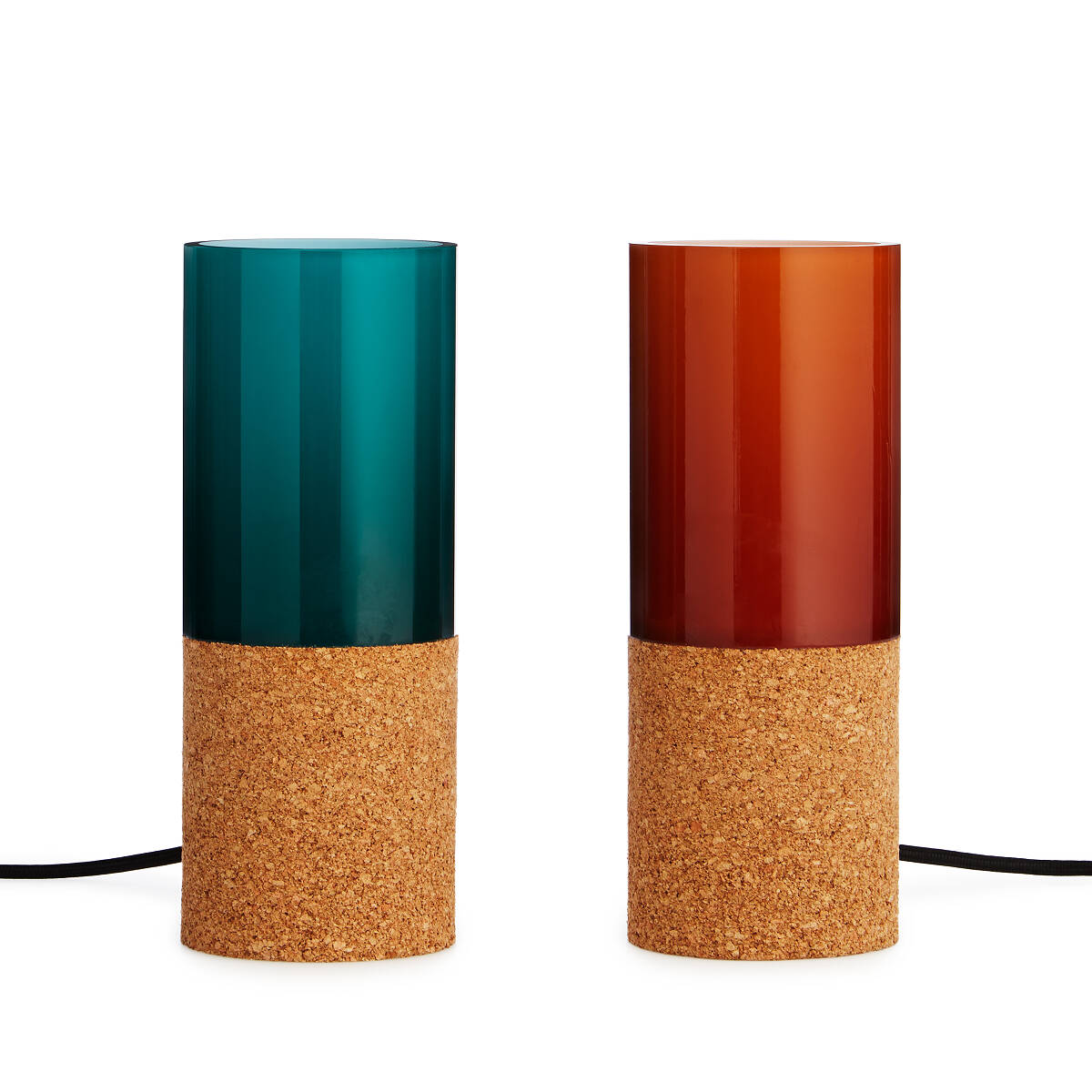 Glass Sleeve Desk Lamp 3 thumbnail - Glass Sleeve Desk Lamp Colorful Modern Light UncommonGoods