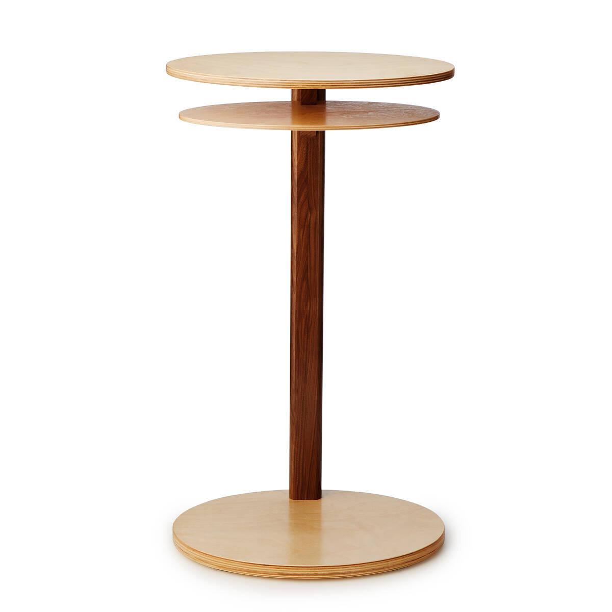 Birch Armchair Side Table 2 Thumbnail