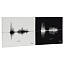 Personalized Anniversary Sound Wave Print 2 thumbnail