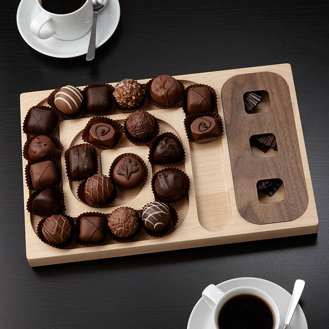 A-Maze-ing Chocolate Server
