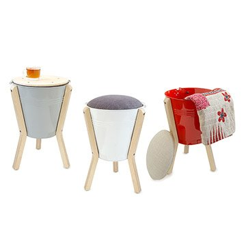 Convertible Bucket Stool
