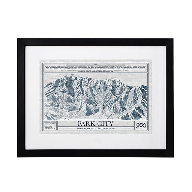 Large ski resort blueprints ski resort wall art uncommongoods large ski resort blueprints malvernweather Gallery