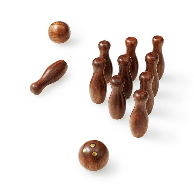 Mini Retro Bowling Set