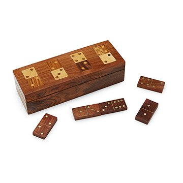 Wooden Domino Set