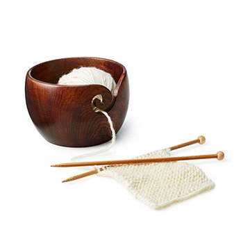 Wooden Yarn Bowl