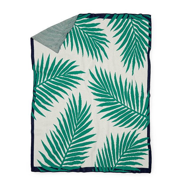 Tropical Palm Throw