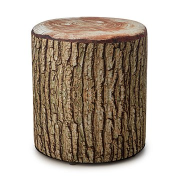 Tree Ring Cushioned Stool